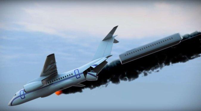 Сенсація! Вчений з Києва придумав, як рятувати людей в авіакатастрофах
