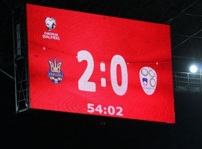 Збірна України обіграла Словенію з рахунком 2:0 (відео голів)