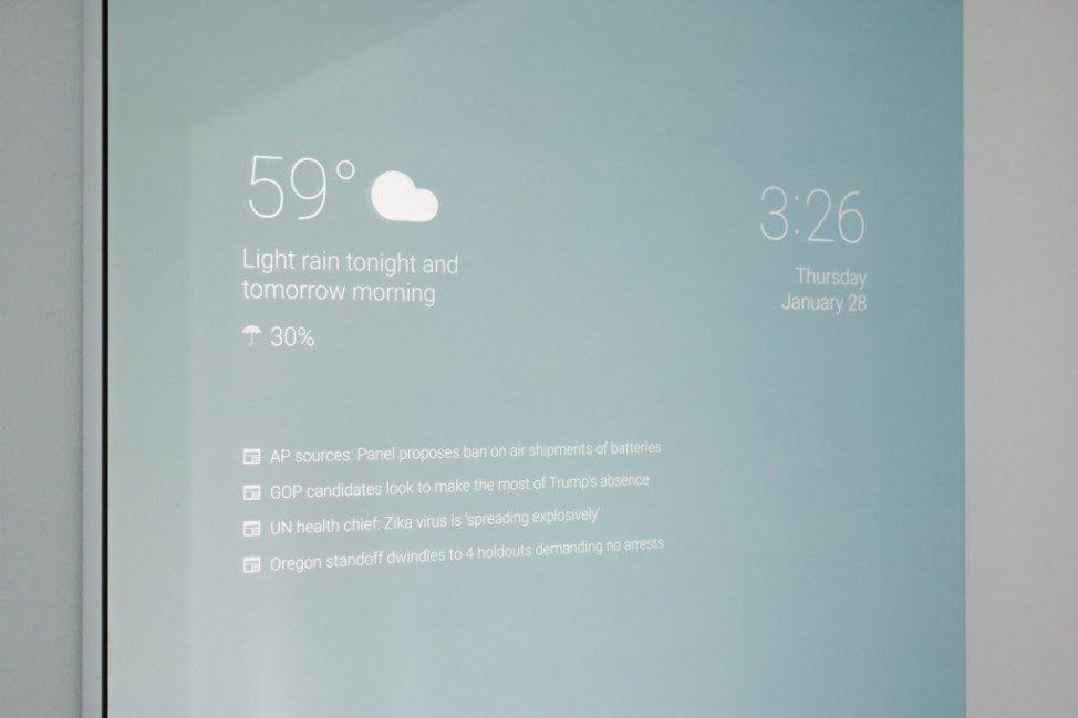 Співробітник Google створив дзеркало майбутнього (Фото)