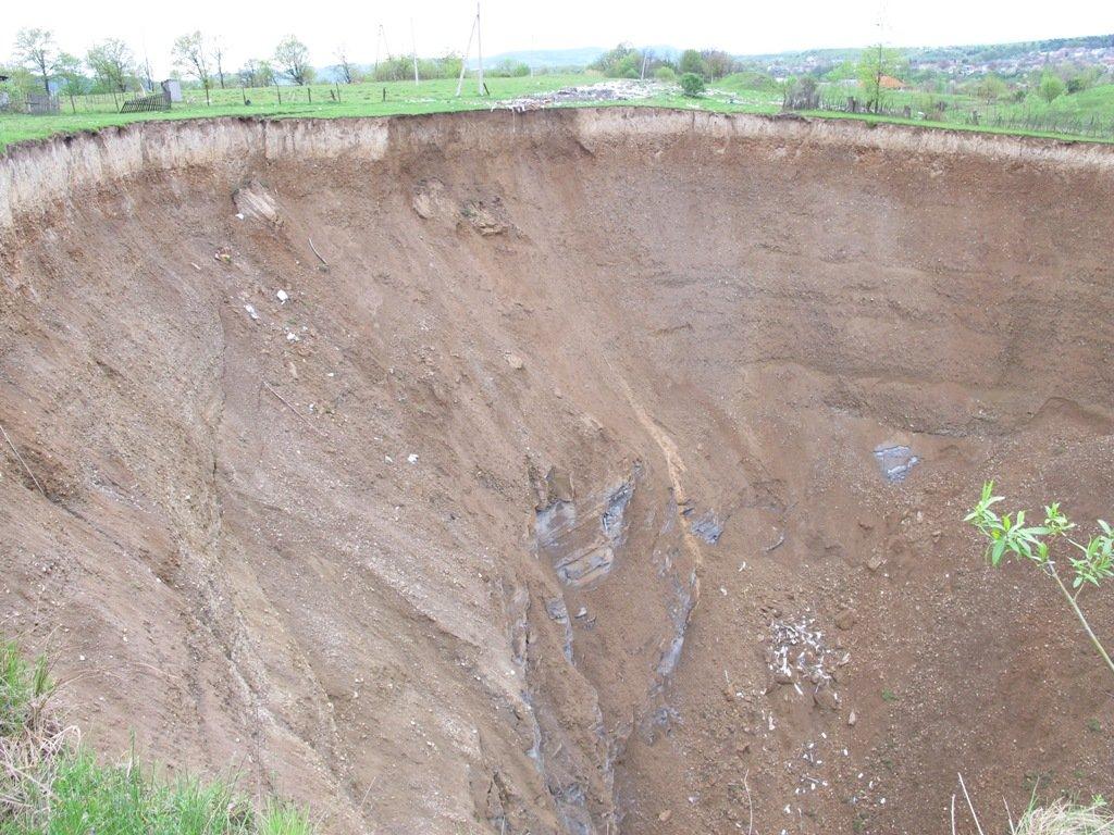 Мінагрополітики просить терміново ліквідувати небезпечні техногенно-геологічні процеси на