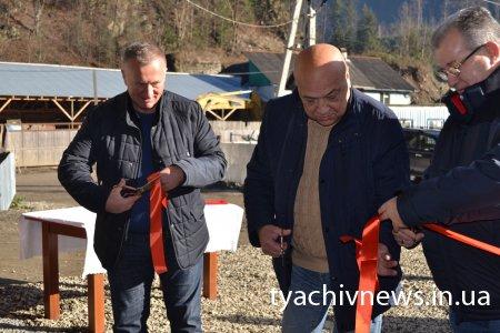Відкрито нову гідроелектростанцію в Лопухові - Брустурянка (ФОТО)
