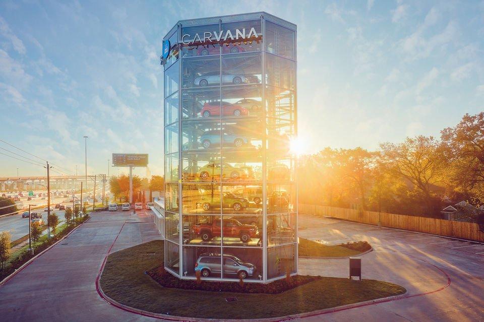 У США відкрили автомат з продажу автомобілів (ВІДЕО)