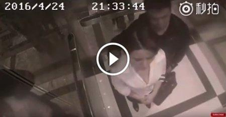 Чоловік намагається напасти на неї в ліфті. Але коли вона повертається... повірити не можу! (ВІДЕО)