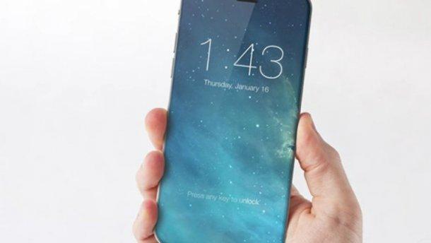 ЗМІ: Новий смартфон Apple «IPhone X» вийде з«обгорнутим» навколо корпуса екраном