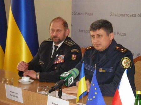 Відбувся круглий стіл з делегацією Пардубицького краю щодо Служби рятунку Закарпаття