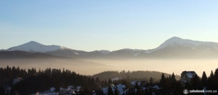 От це так! неймовірна краса Закарпаття снігом завалило / ФОТО