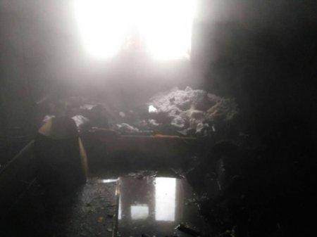 У Солотвині під час пожежі згорів власник (ФОТО)