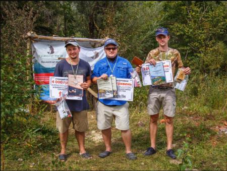 Риболов з Тячівщини став призером чемпіонату України з нахлисту