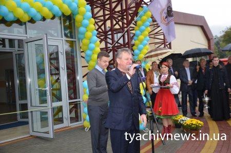 Сьогодні у Тячеві відкрили спорткомплекс (Фото)