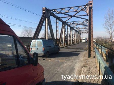 Аварійний міст в Буштині, що на Тячівщині, потребує негайного ремонту