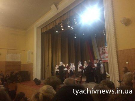 У Тячеві відбувся концерт Олександра Клименка