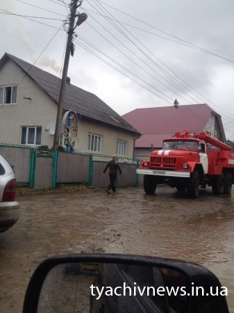 На Тячівщині пожежа в житловому будинку (Фото)