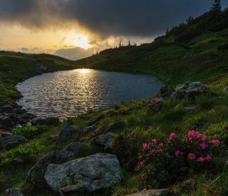 В мережі розповіли таємницю моторошної назви Кривавого озера в Карпатах / ФОТО