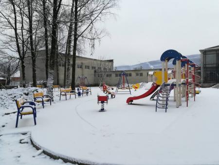 У Ганичах збудовано дитячий майданчик (ФОТО)