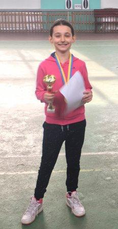Тячівка стала чемпіонкою області з тенісу (Фото)