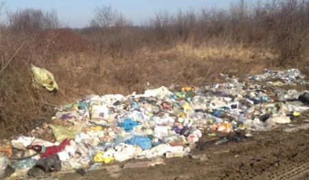 Буштино потопає в горах сміття (ФОТОФАКТ)