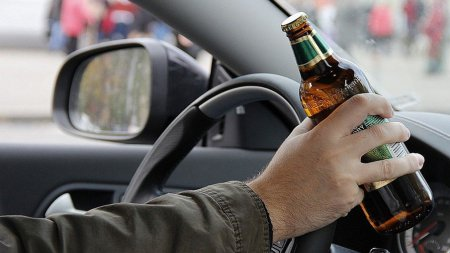 На Тячівщині  поліція затримала нетверезого водія