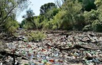 За сміттєві затори на річках Закарпаття ніхто не несе відповідальність, а Україна платить штрафи (ВІДЕО)