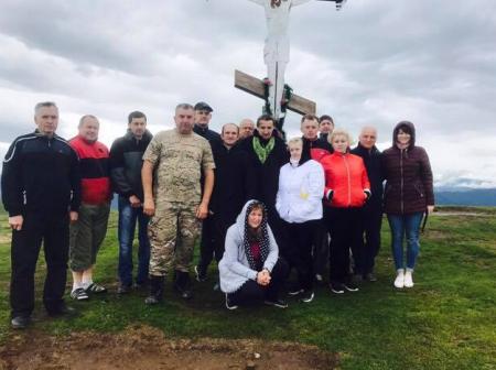 Дубівчани на Апецькій помолилися за мир в Україні (ФОТО)