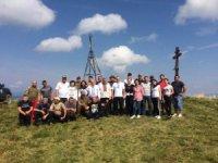Як на найвищій вершині Іршавщини національний стяг замайорів (+ФОТО)