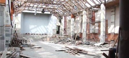 У Хусті стартували роботи з реконструкції колишнього районного будинку культури