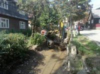 Рахів досі чистять від наслідків після сильної зливи, яка була ще минулого місяця (фото)