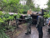 У Рокосові на Хустщині завершують перезавантаження небезпечних хімзасобів (ФОТО)