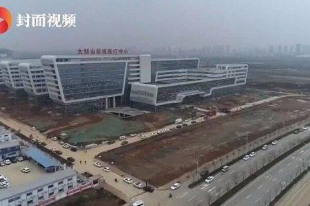 У Китаї за 48 годин побудували лікарню для заражених коронавірусом: фото і відео